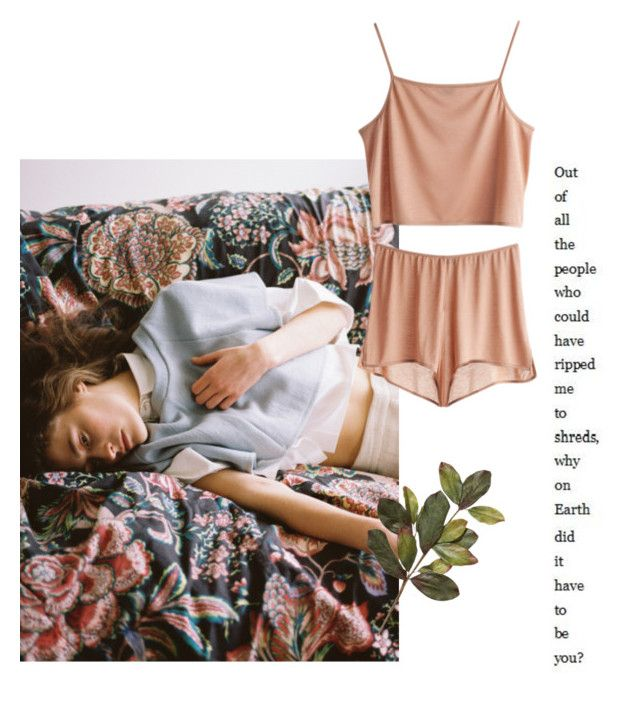 """Why on earth did it have to be you"" by tasteofbliss ❤ liked on Polyvore"