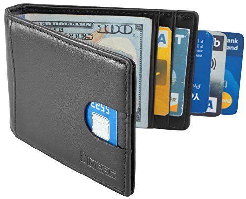 Slim Front Pocket Man Wallet Card Holder Minimalist Thin Credit Money Clip NEW
