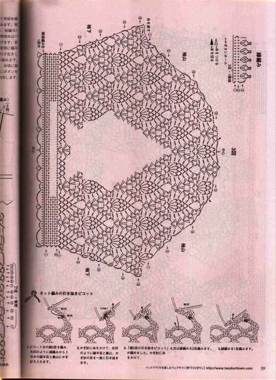 crochelinhasagulhas: Casaqueto azul em crochê