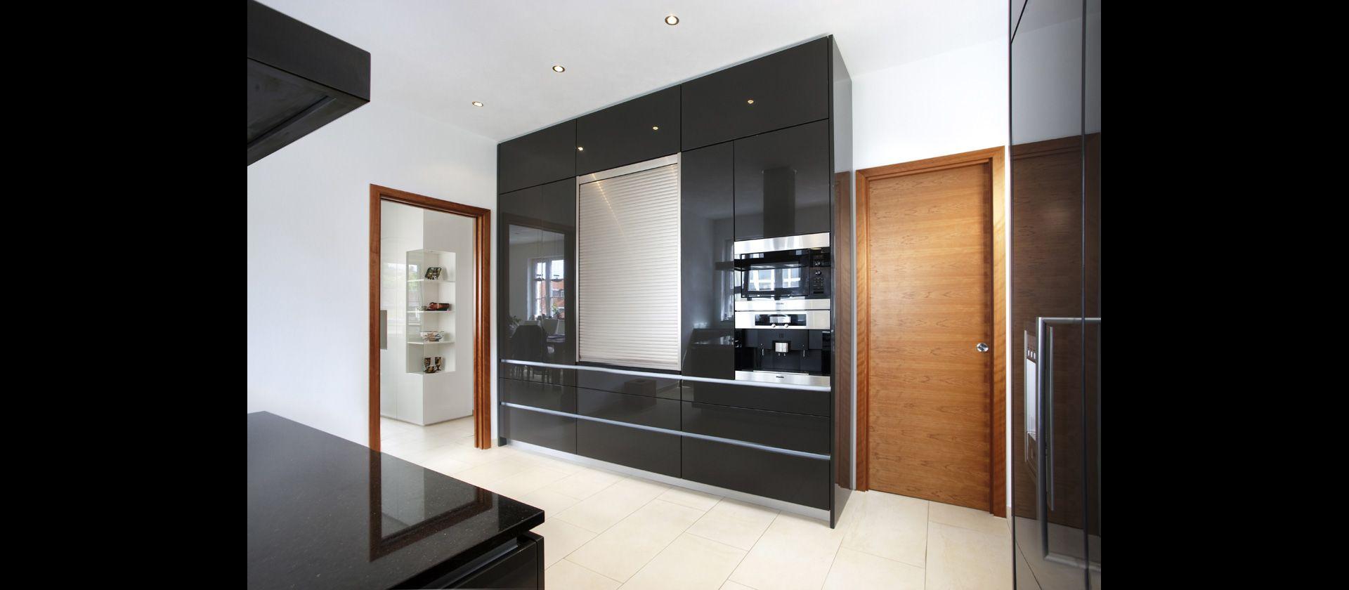 MTB-Küche mit Glas, lackiert und Granit Galaxy | Küche | Pinterest ...