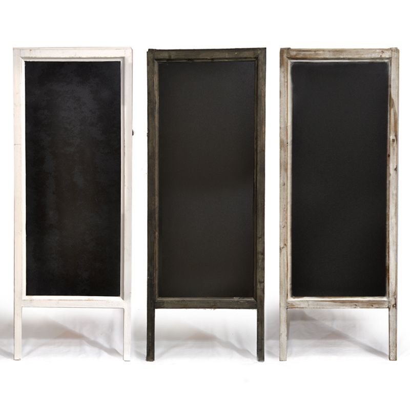 Large Chalkboards: Take cheap door mirrors and paint with chalkboard ...