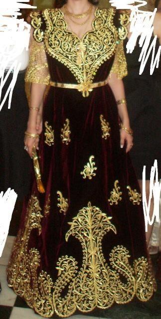 #algeriantraditionaldresses جبة الفرقاني القسنطينية Al…   Robe constantinoise, Tenue ...
