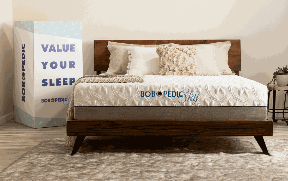 BobOPedic Sky Twin Firm Mattress Mattress, Mattress