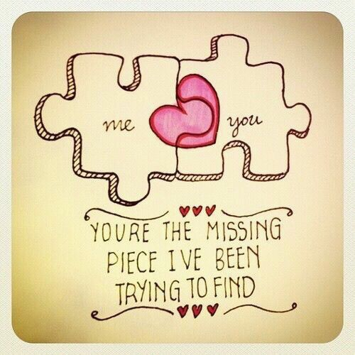Puzzle Pieces Quote Puzzle Pieces Cute Love Quotes For Him Cute