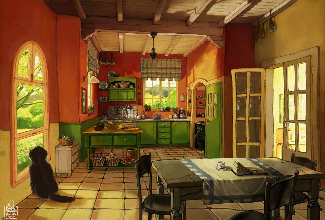 Kitchen by Awesome-Deviant-Name on DeviantArt