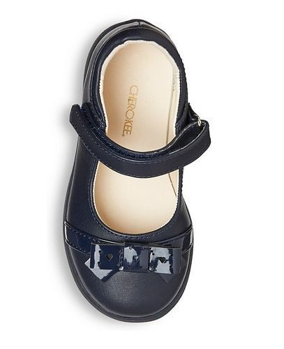 70a31b28c Cherokee Girls Navy Blue Dawna Mary Jane Ballet Flat Shoes with Patent Bow  - NEW in Clothing, Shoes & Accessories, Baby & Toddler Clothing, ...