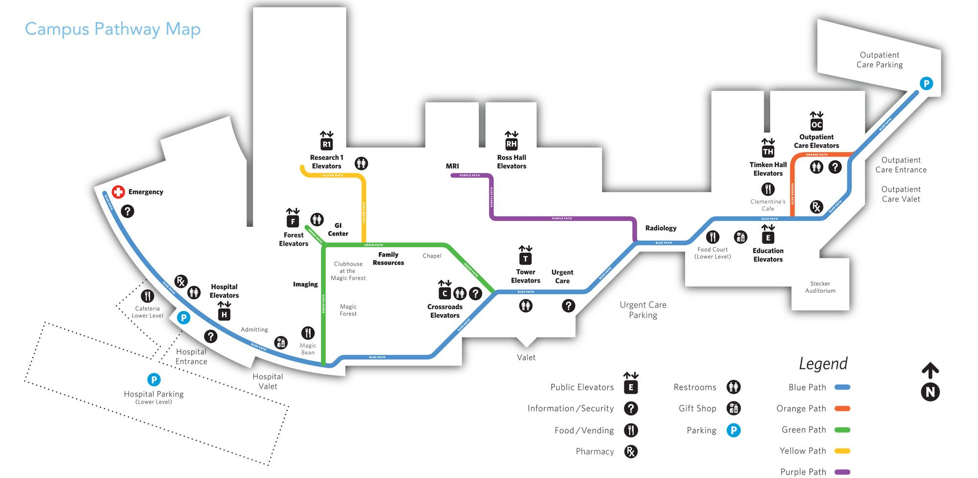 Image result for wayfinding+maps+hospitals | maps | Wayfinding ... on