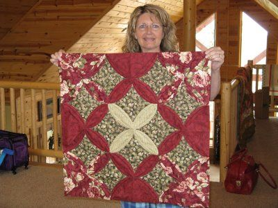 Pin By Janie Curry On Cathedral Window Quilting