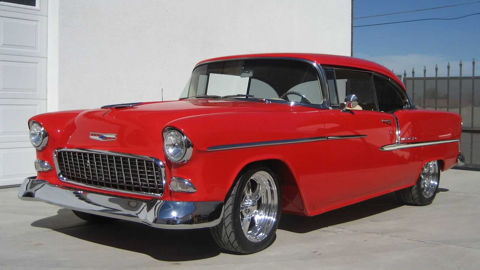 1955 Chevrolet Bel Air Presented As Lot S156 At Las Vegas Nv