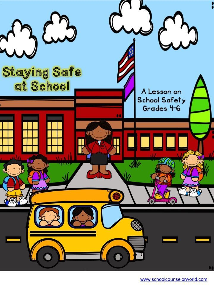 Guidance lesson on School Safety.Teach students how to