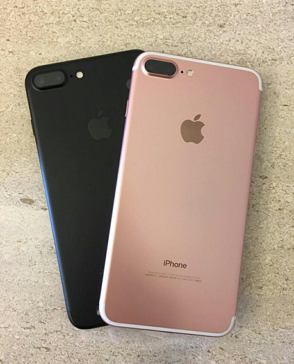 iphone 7 matte black vs rose gold