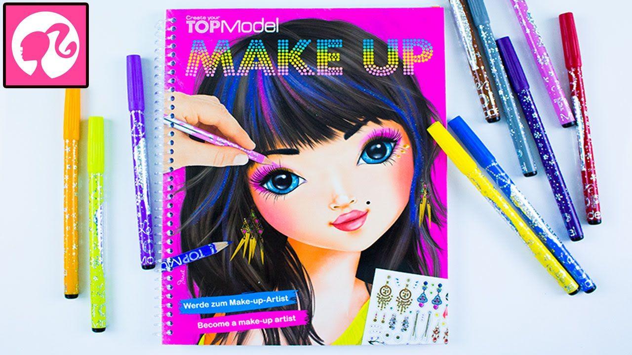 Мультик раскраска смотреть онлайн. Макияж, Причёска - Make-up-Artist T...