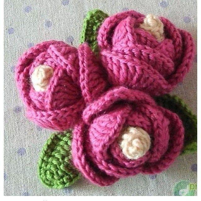 easy_do crochet flowers | Crochet | Pinterest | Flores de ganchillo ...