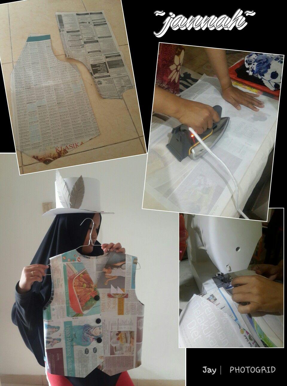 Baju Dari Koran