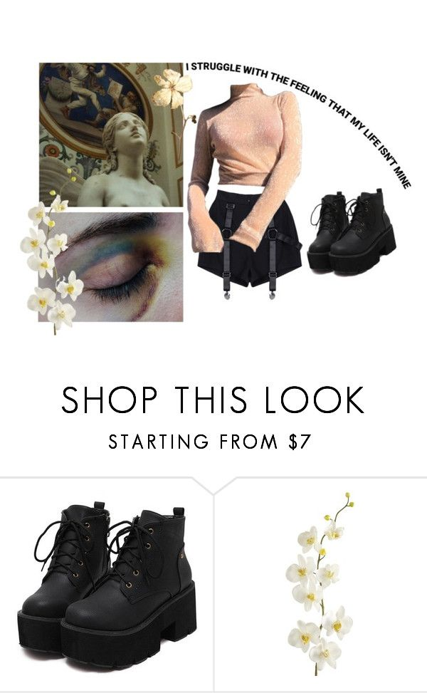 """""""decay??"""" by pixiekid ❤ liked on Polyvore featuring Pier 1 Imports"""