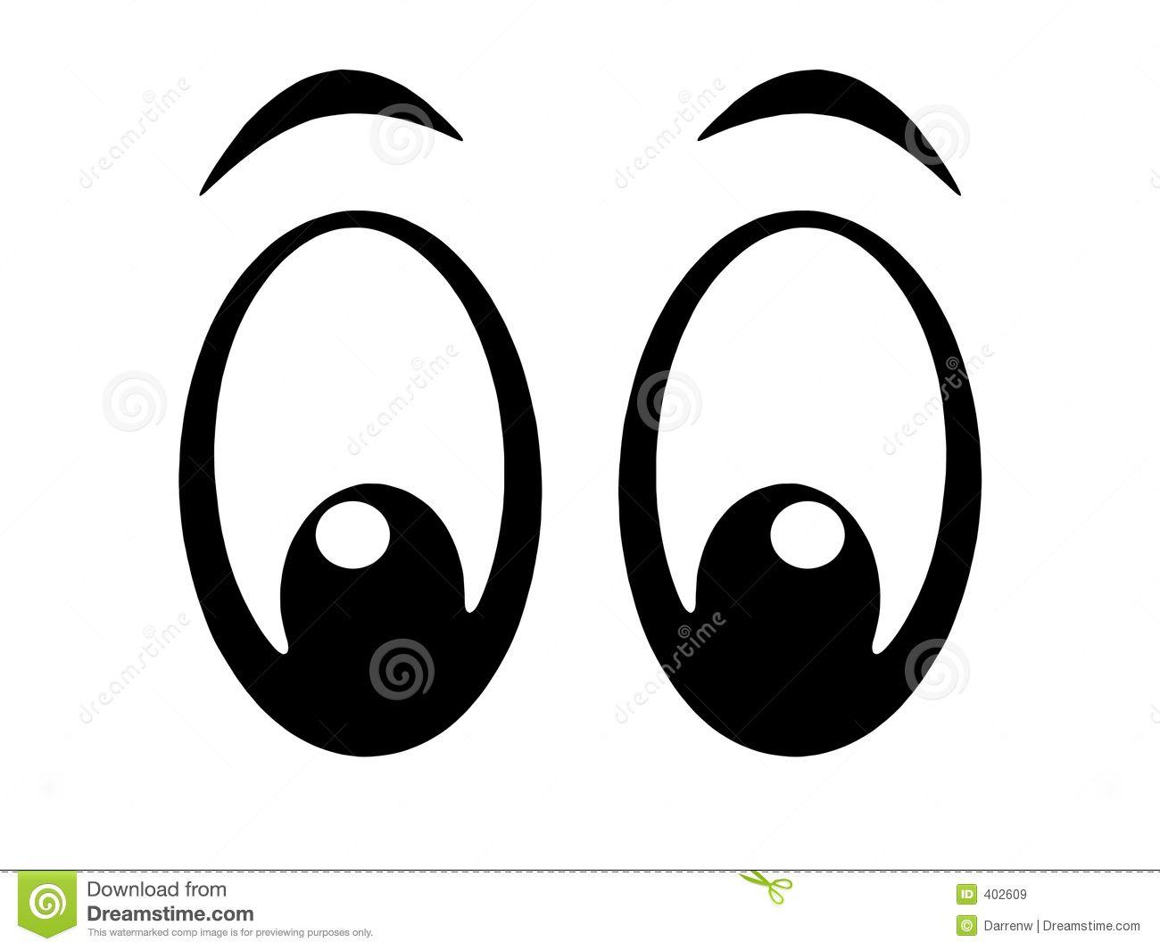 Eyes Bw Royalty Free Stock Images Image 402609 Olhos Desenho