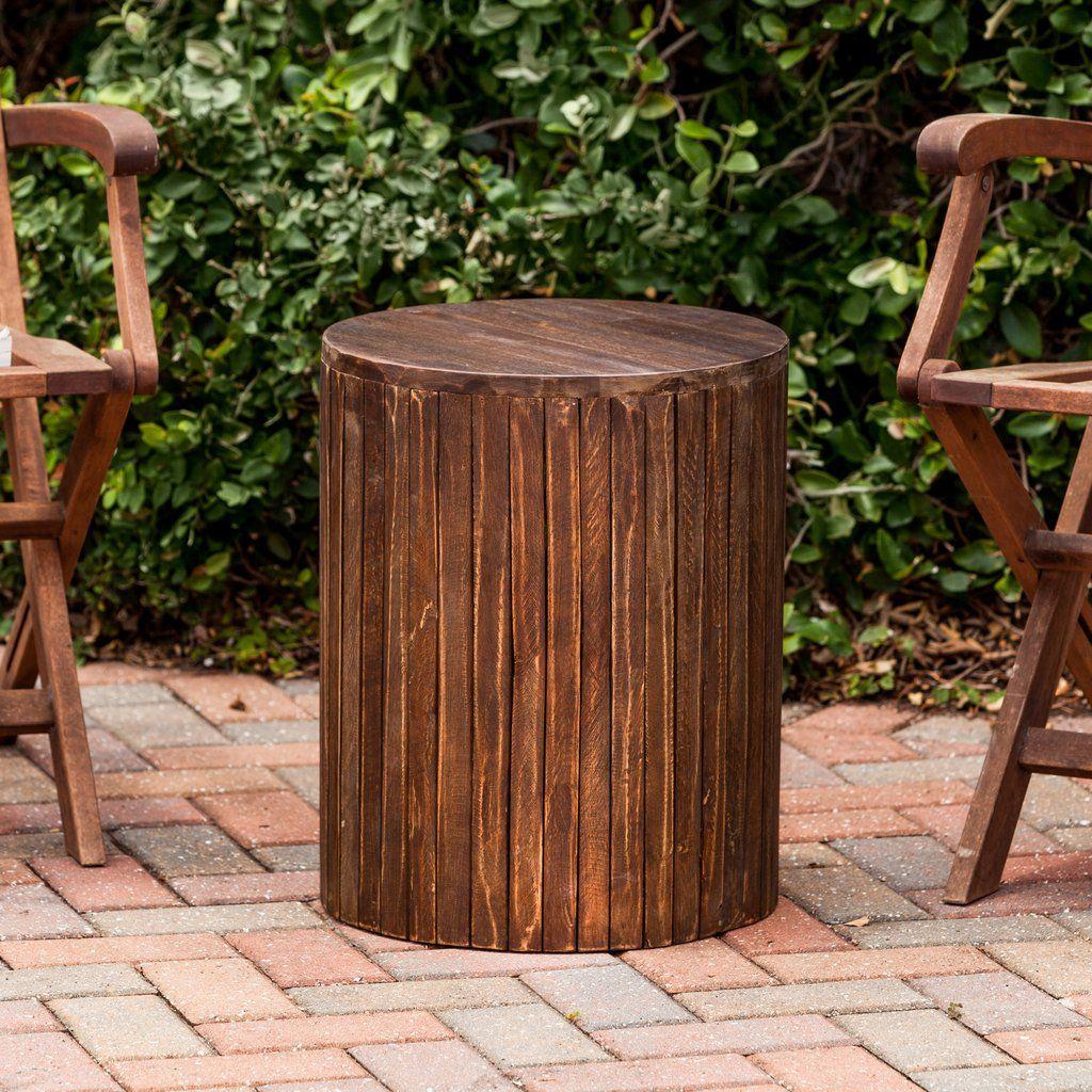 Groovy Dark Wood Garden Stool Back Yard Furniture Garden Alphanode Cool Chair Designs And Ideas Alphanodeonline