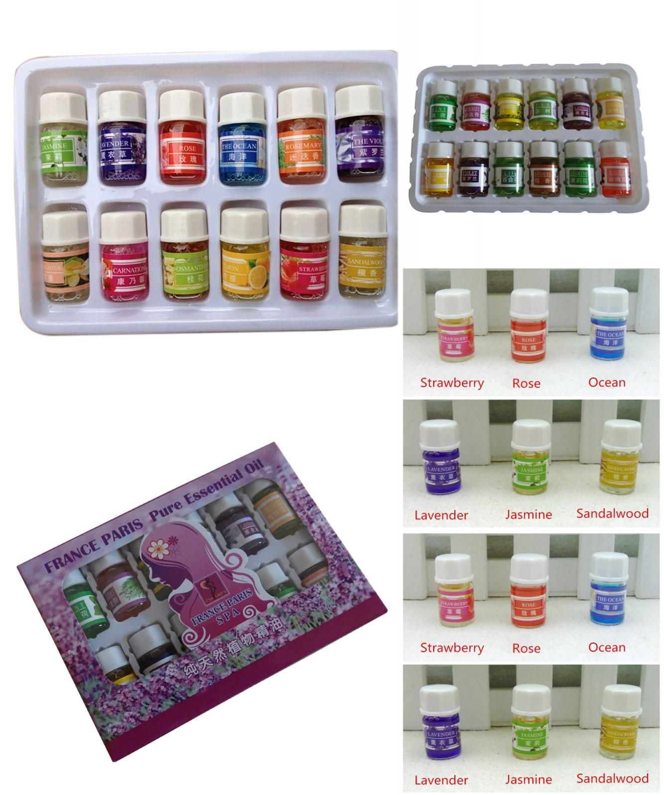 Visit To Buy 3ml Essential Oils Pack For Aromatherapy Spa Bath