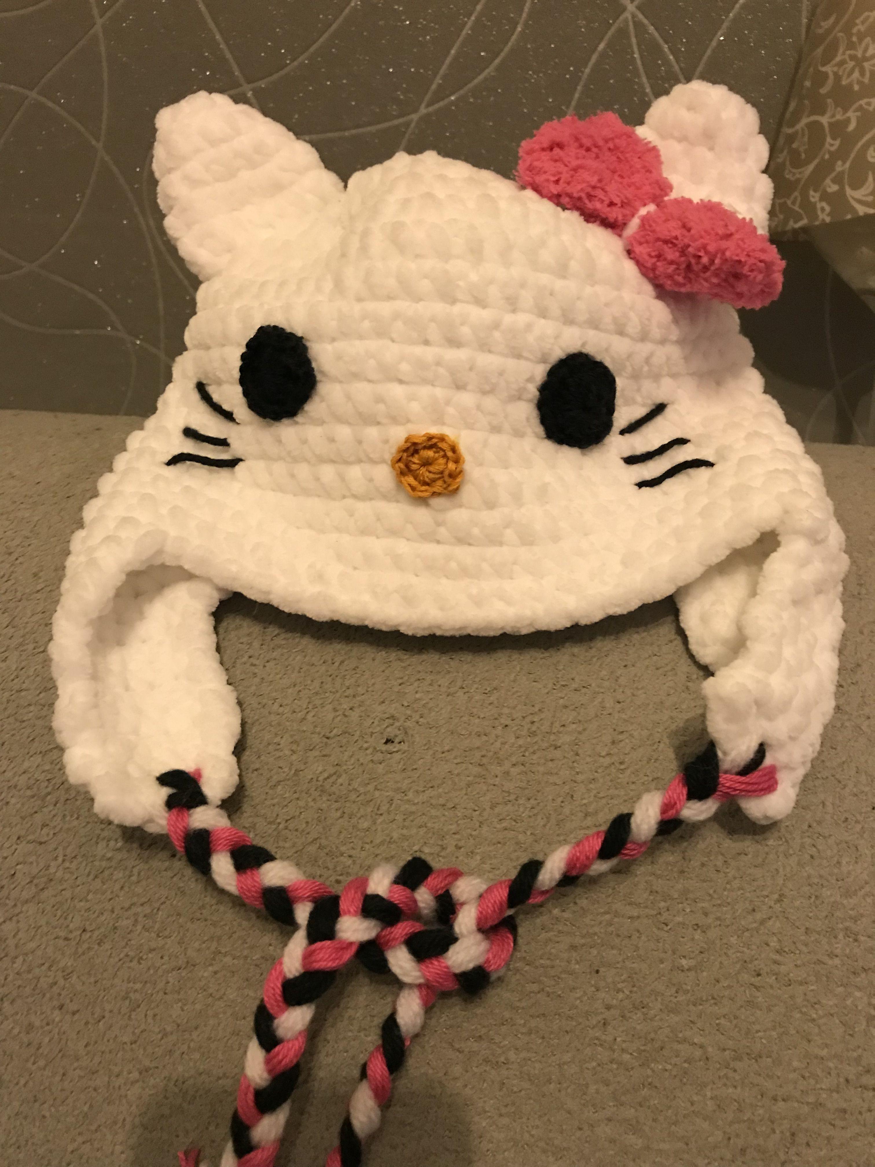 Mütze Häkeln Katze Kitty Mütze Kostenlose Anleitung