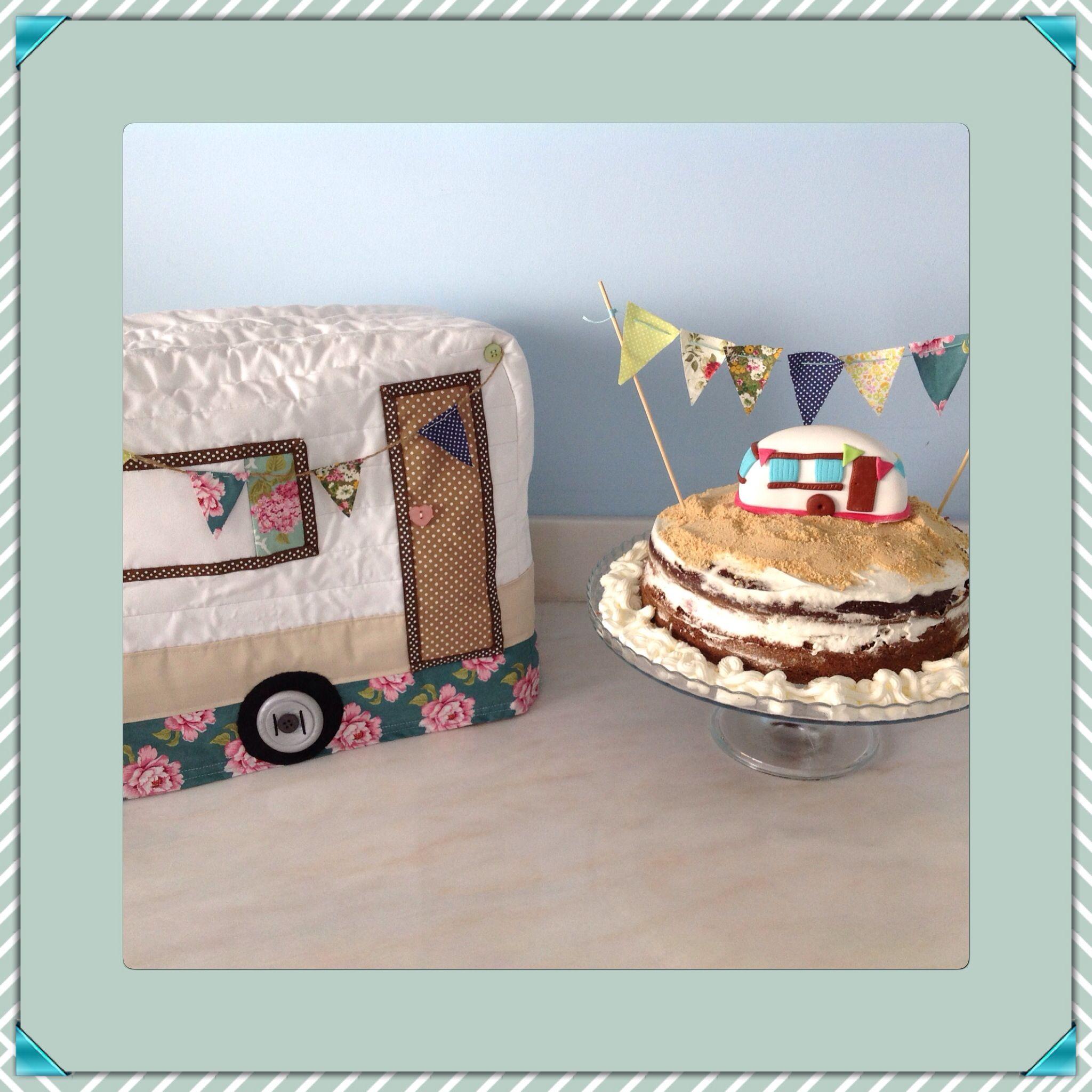 Conjunto bolo/ prenda de aniversário.