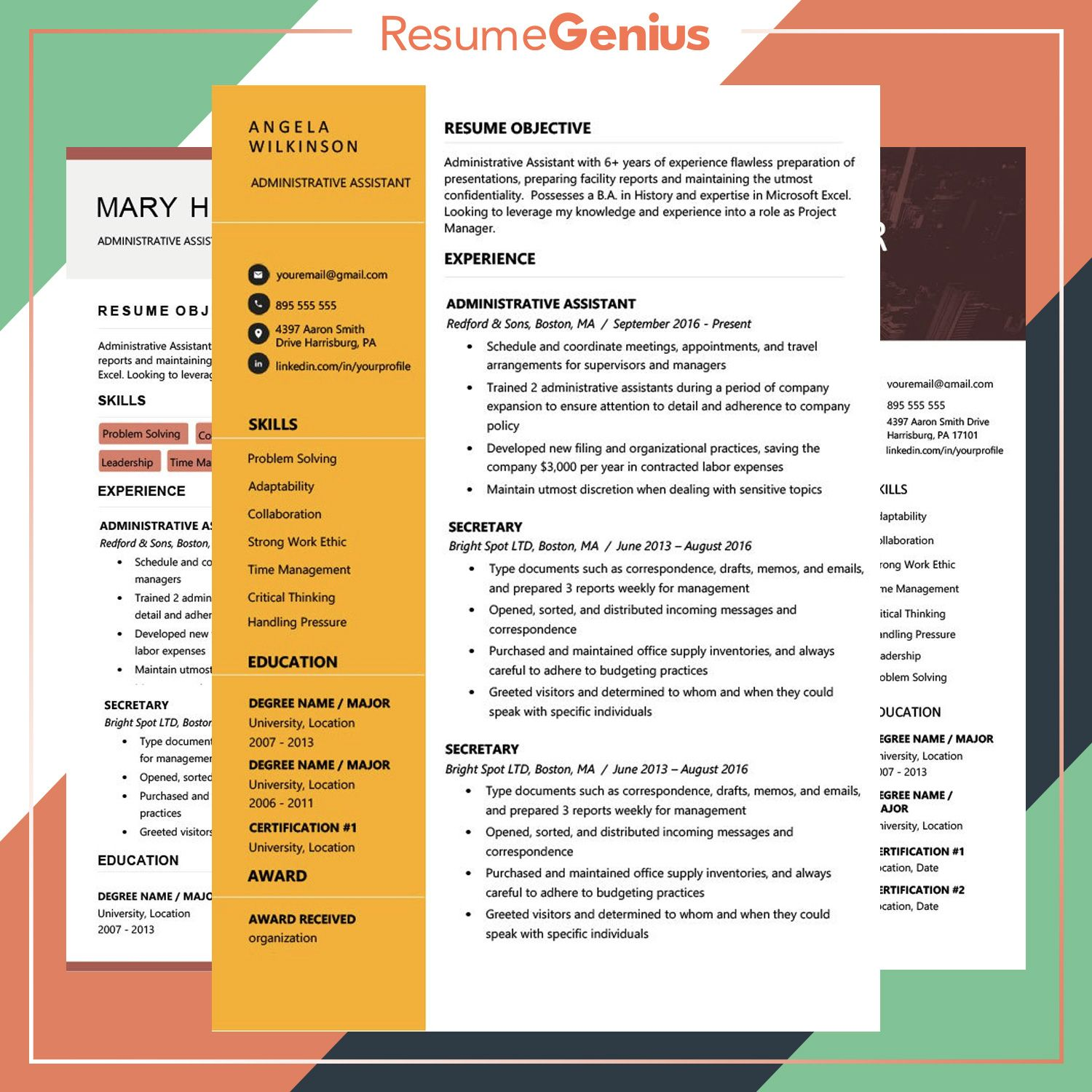 """Howto"" Resume Genius image by Resume Genius Resume"