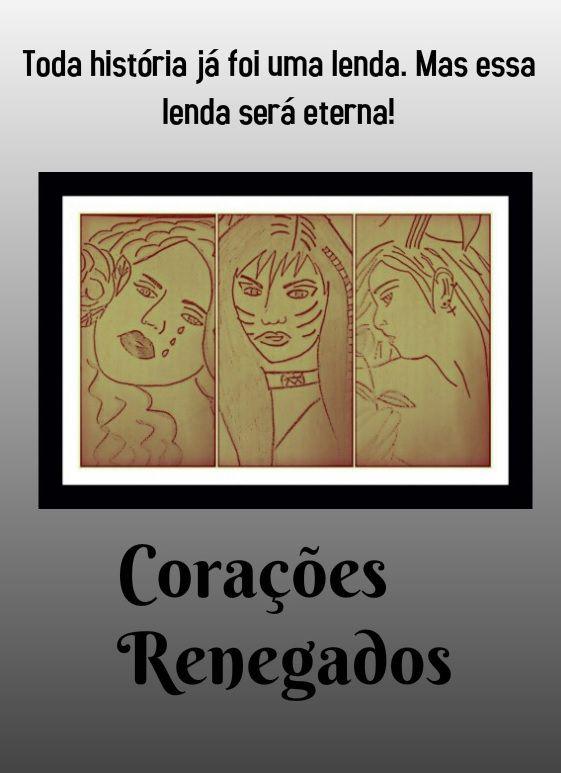 Capa do diário Corações Renegados