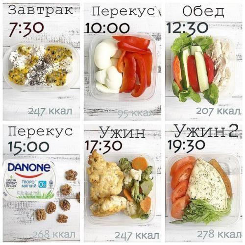 Здоровое питание меню рецепты r