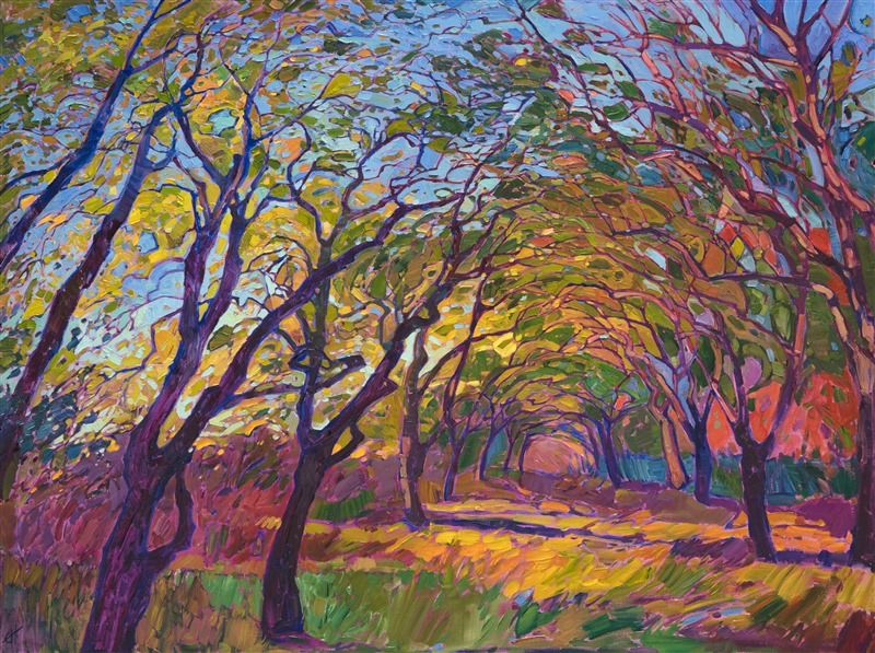 Path At Dawn Original Oil Paintings For Sale In San Diego