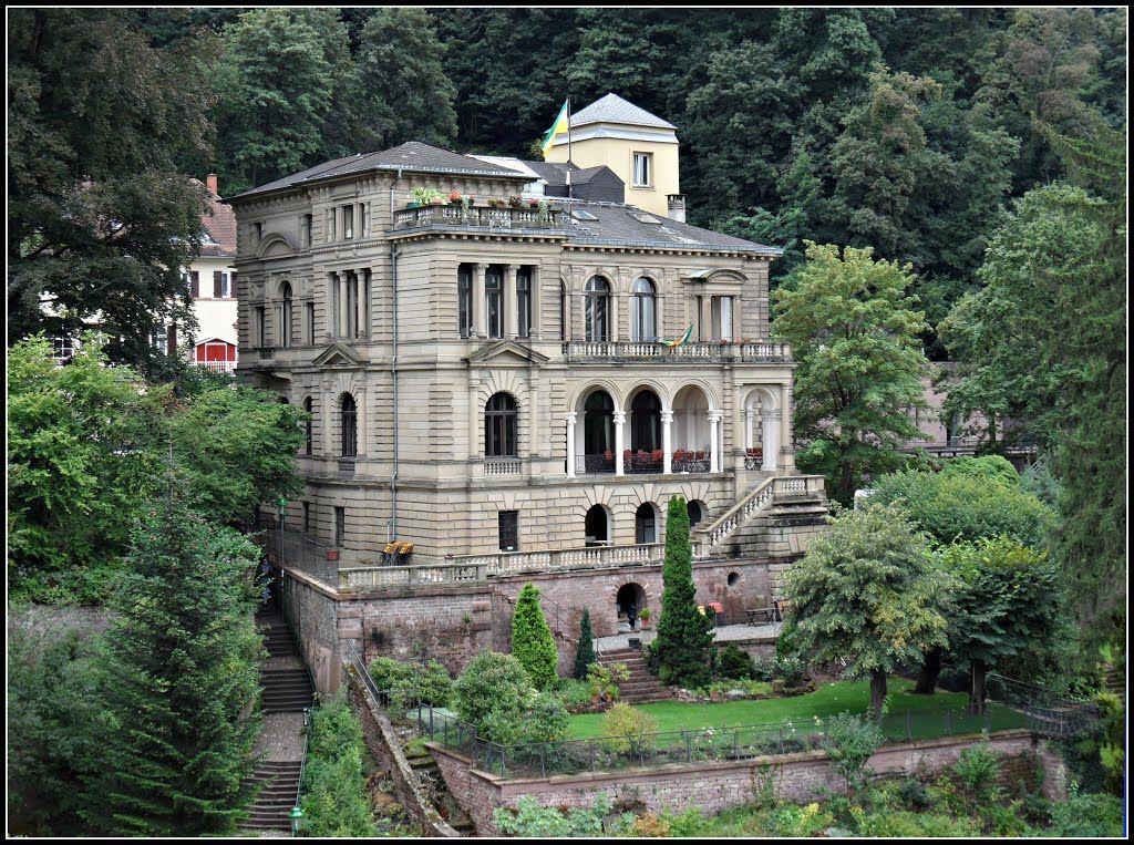 Heidelberg Villa Lobstein Architecture Floorplans