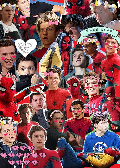 Cute Tom Holland Imagines