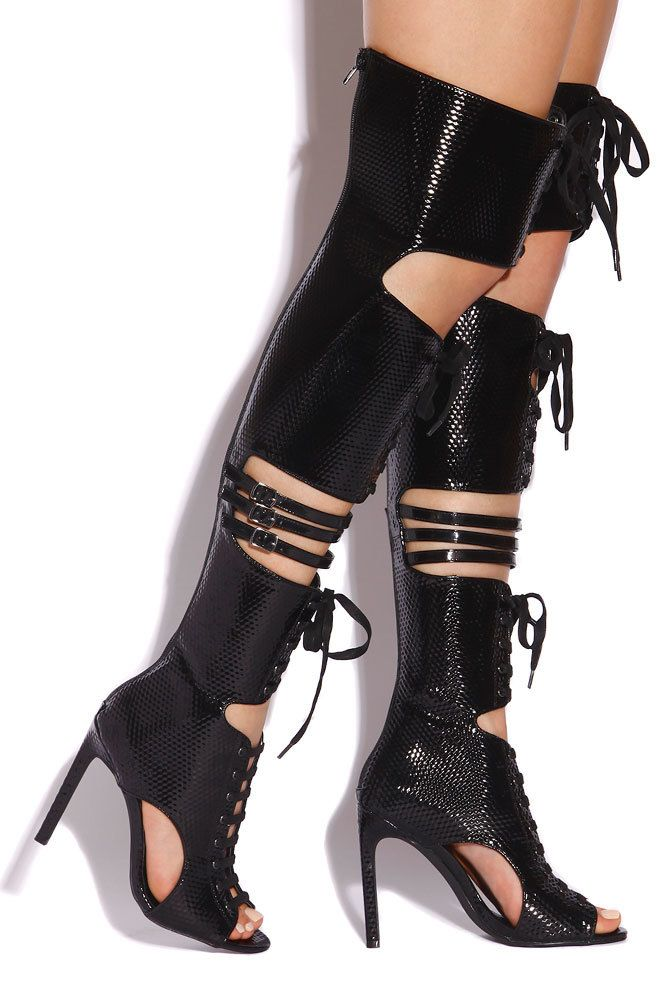 Lola Shoetique - Fearless Attraction - Black, $198.00 (http://www.lolashoetique.com/fearless-attraction-black/)