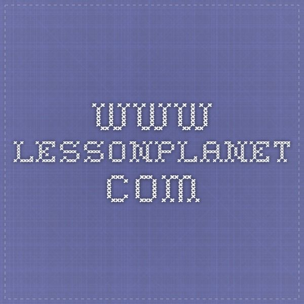 www.lessonplanet.com