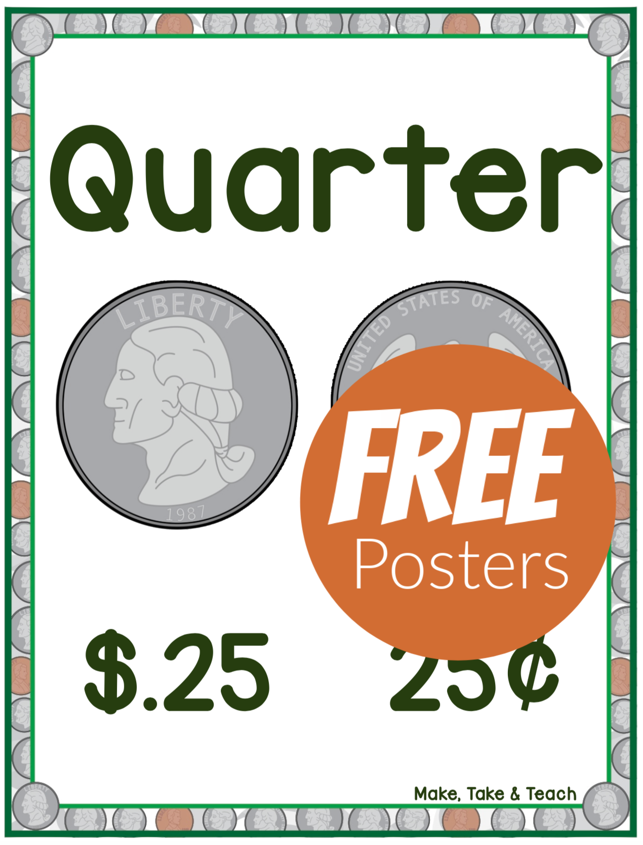 Free Coin Posters These Free Posters Along With A Free