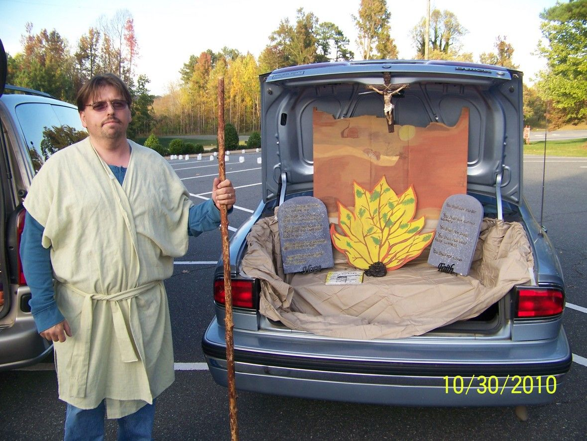 Biblical Trunk Or Treat