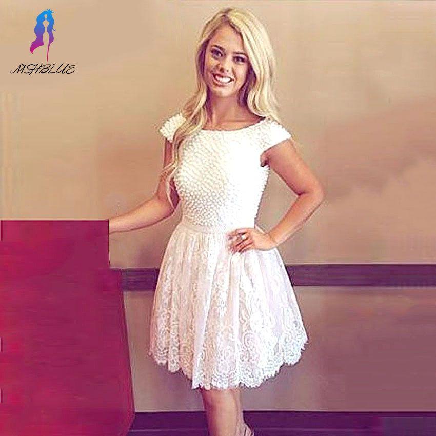 Lace graduation dresses for 8th grade