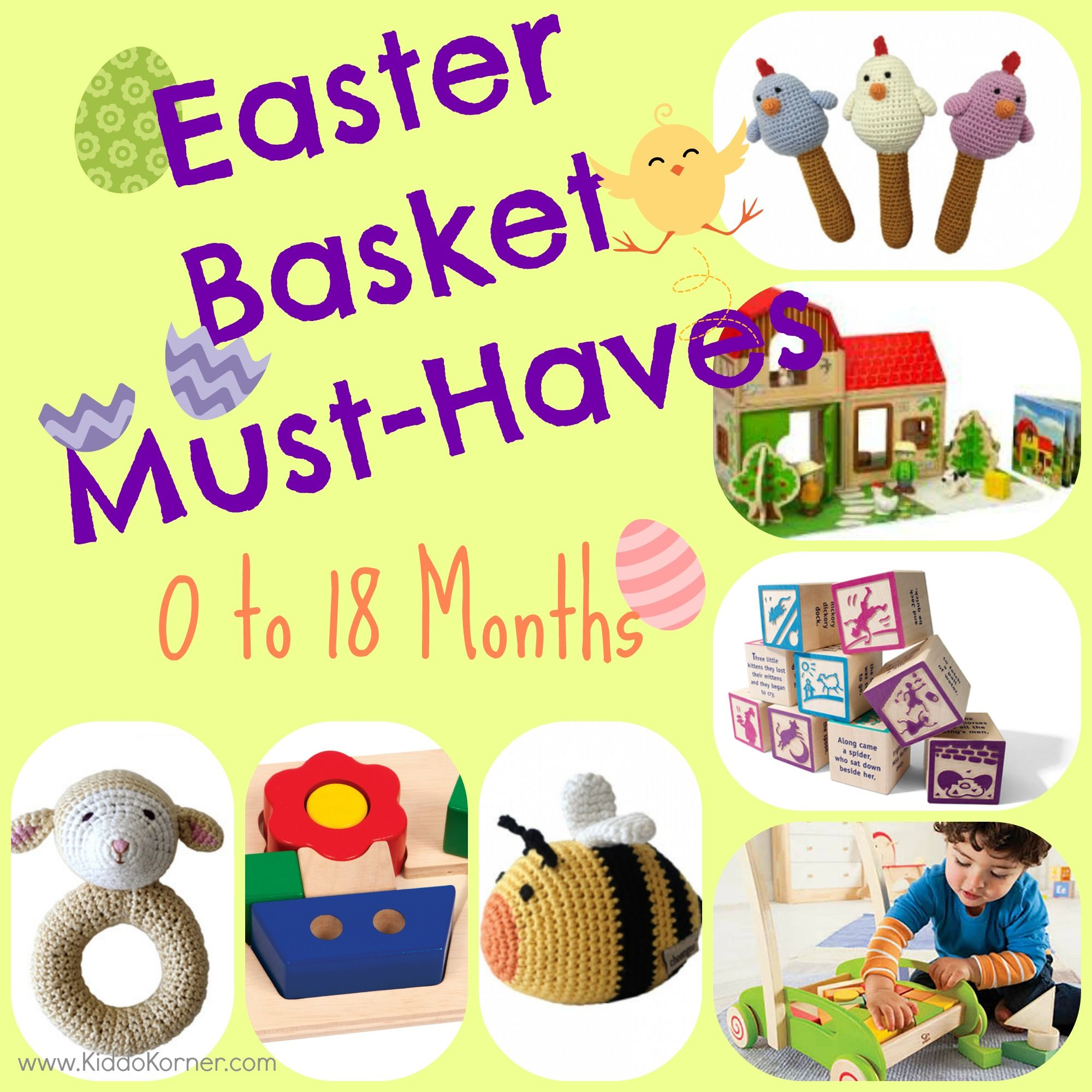 Click here for a great list of easter basket must haves for your 0 my first easter easter basket must haves months negle Image collections
