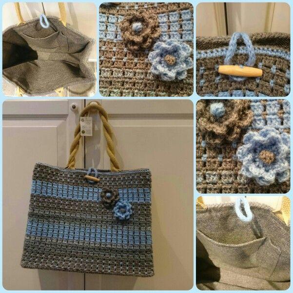 AH tas gemaakt door Suzanne Reezigt Haken Crochet