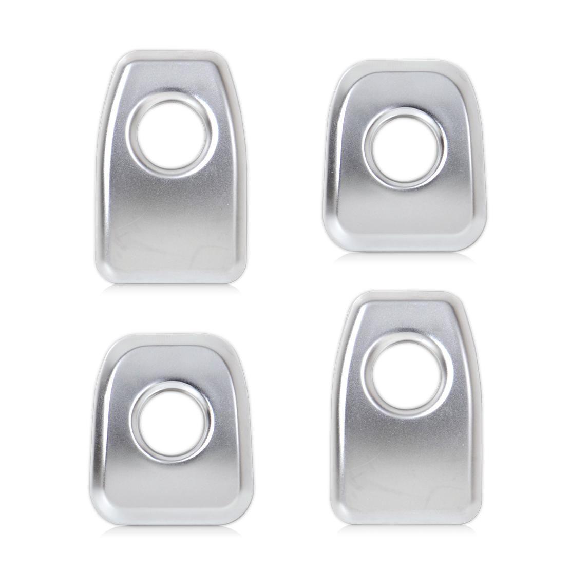 car door lock knob. CITALL 4pcs Matt Chrome Car Interior Door Lock Pin Knob Grommet Ferrule Covers Button Trim For