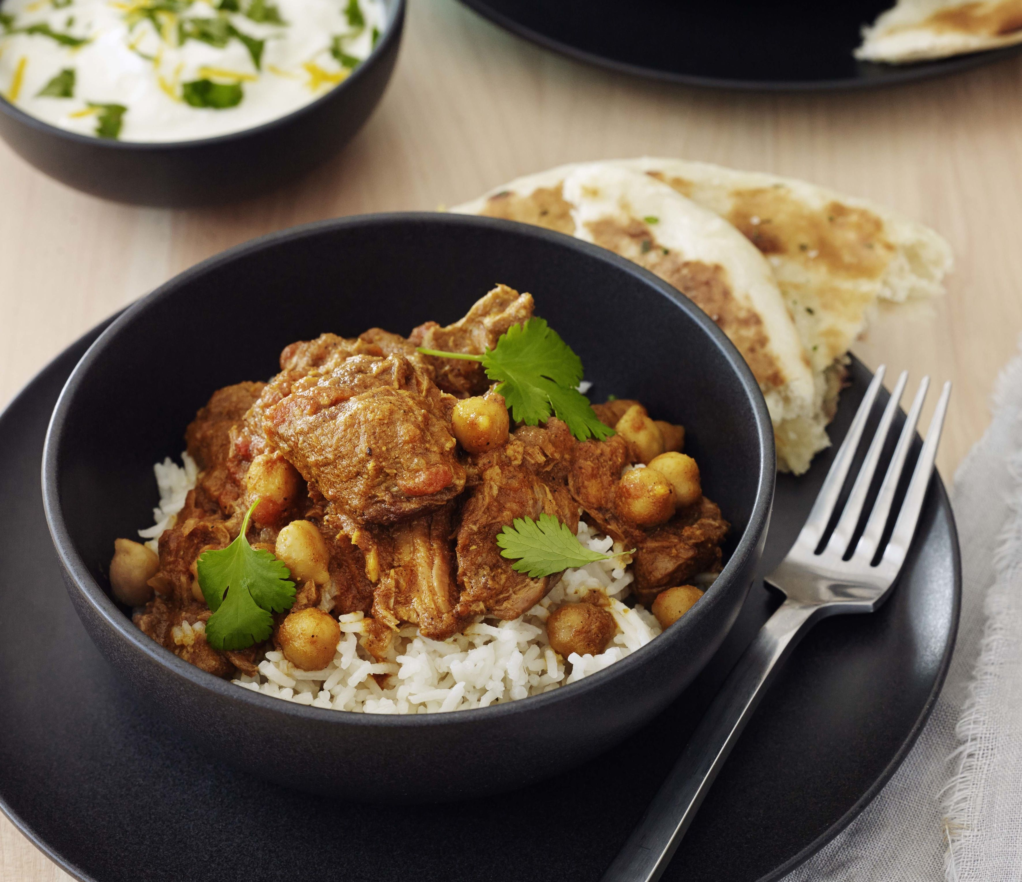 Indian lamb curry chelsea winter indian food pinterest lamb new zealand beef lamb recipes indian spiced lamb chickpea curry forumfinder Images