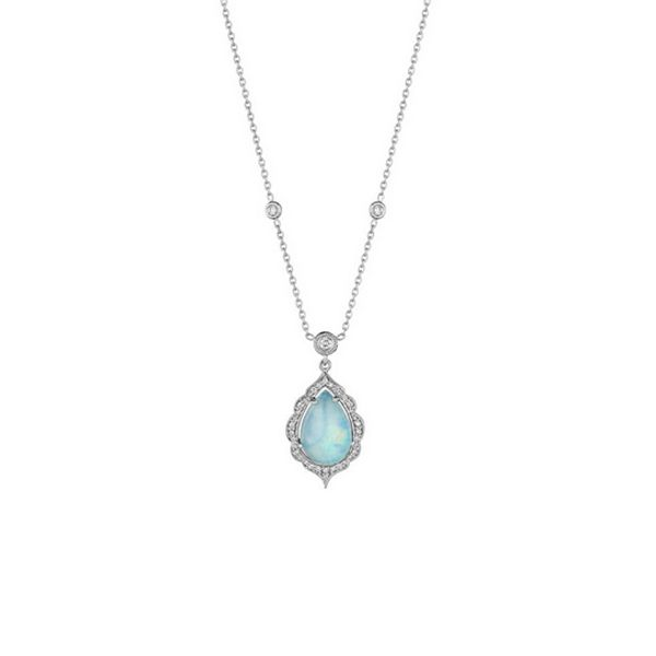 PENNY PREVILLE Opal And Diamond Necklace