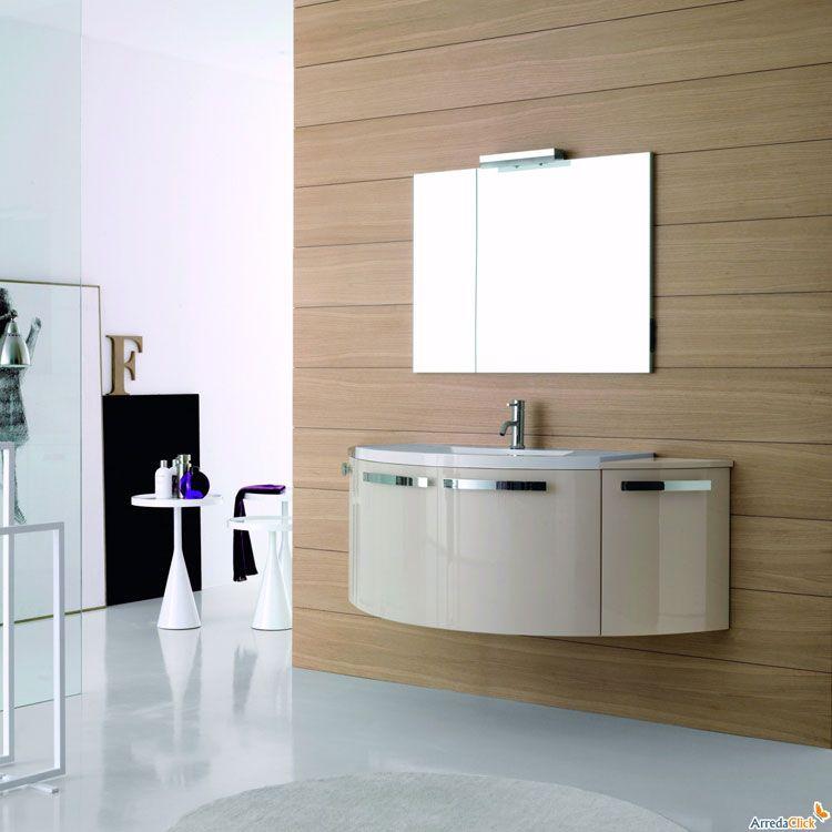 Mobile bagno sospeso design moderno n.17