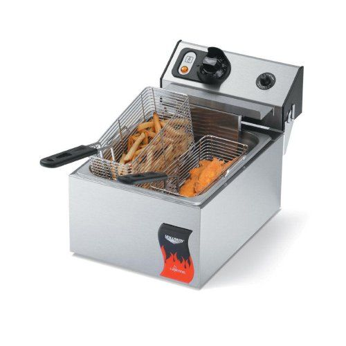 Vollrath 40705 10 Pound Commercial Countertop Deep Fryer 110v