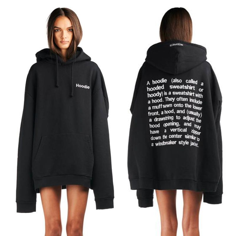Woman wearing an oversized #hoodie. | Hoodies | Pinterest ...