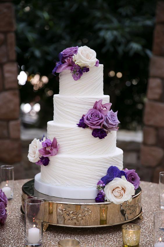 2019 BRIDES FAVORITE WEEDING COLOR: STYLISH SHADE OF PURPLE - Wedding Invites Paper