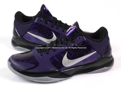 promo code cfbb2 6f07a Nike Zoom Kobe V 5 X Purple/Black/Silver Basketball ZK5 | My ...
