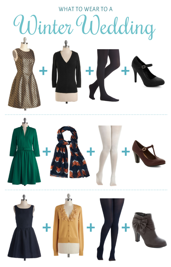 What to Wear to a Winter Wedding Winter wedding outfits