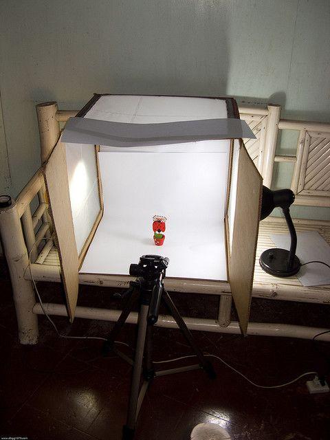 diy macro photo studio light tent by dbgg1979 via flickr