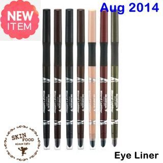 New August 2014  [ SkinFood ] Mineral Lashliner Smudge Proof & Soft Sliding 0.35g (New 2014), Korean Best Cosmetics, Free shipping