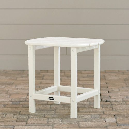 Found It At Wayfair South Beach Side Table Patio Furniture - Wayfair white side table