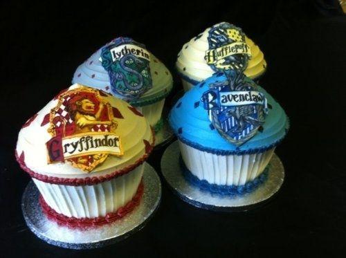 Harry Potter og muffins. Double whammy.